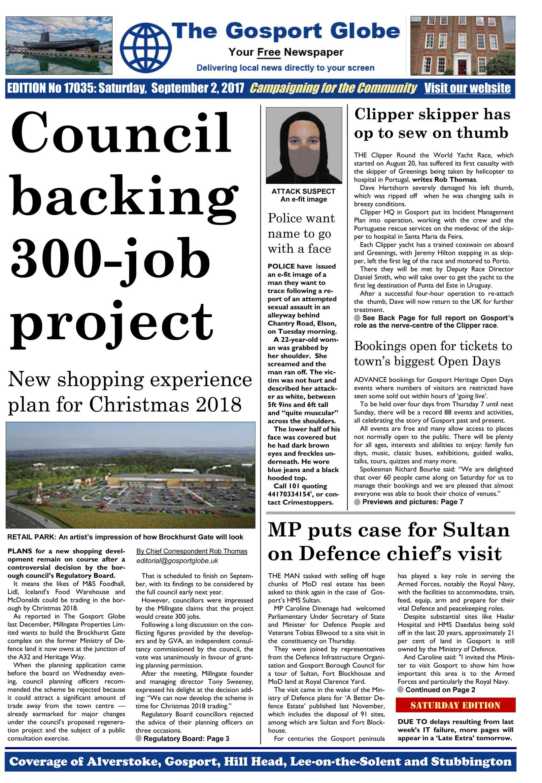 Brockhurst Gate, Gosport. Planning Consent | Millngate