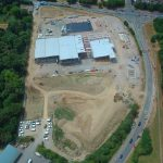 Aerial View of Progress July 2018