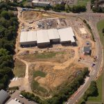 Brockhurst Gate Aerial View August 2018