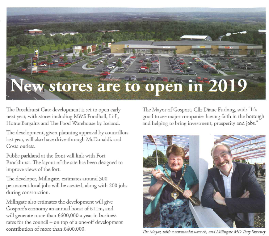 New stores to open in 2019