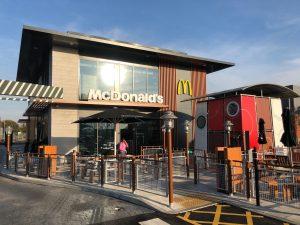 McDonlads at Brockhurst Gate January 2019