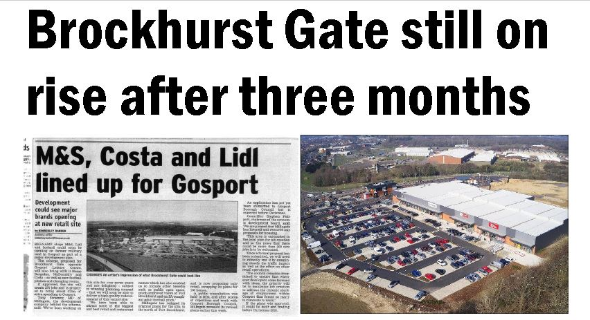 Gosport Globe news article May 2019