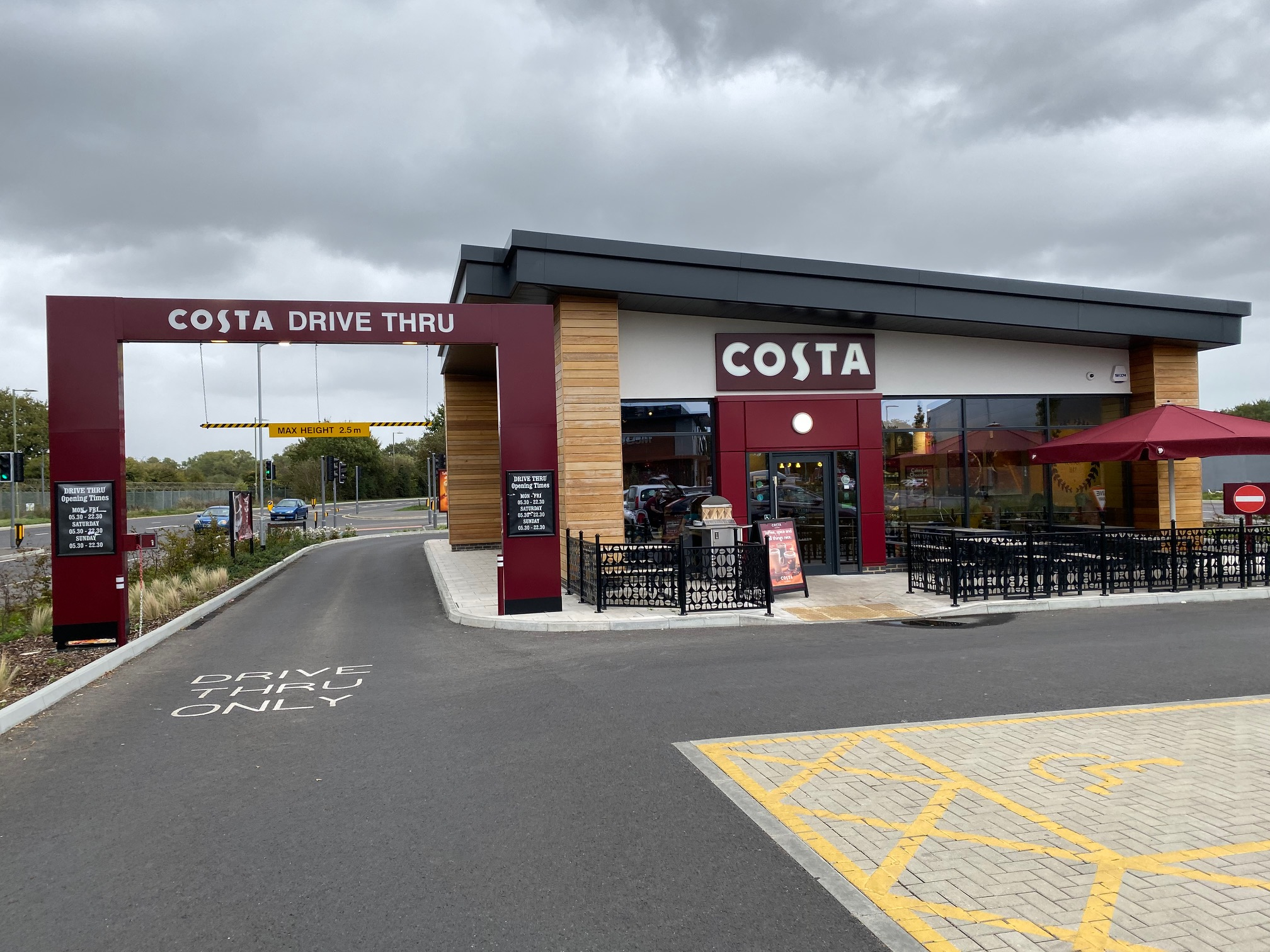 Costa at Brockhurst Gate
