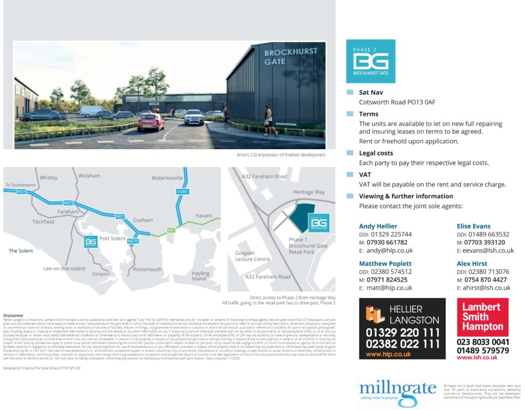 Brocvkhurst Gate Sales Brochure