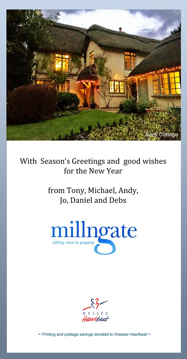 Serasons Greetings from Millngate