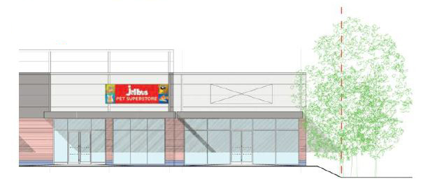 Planniong consent for new unit at Brockhurst Gate